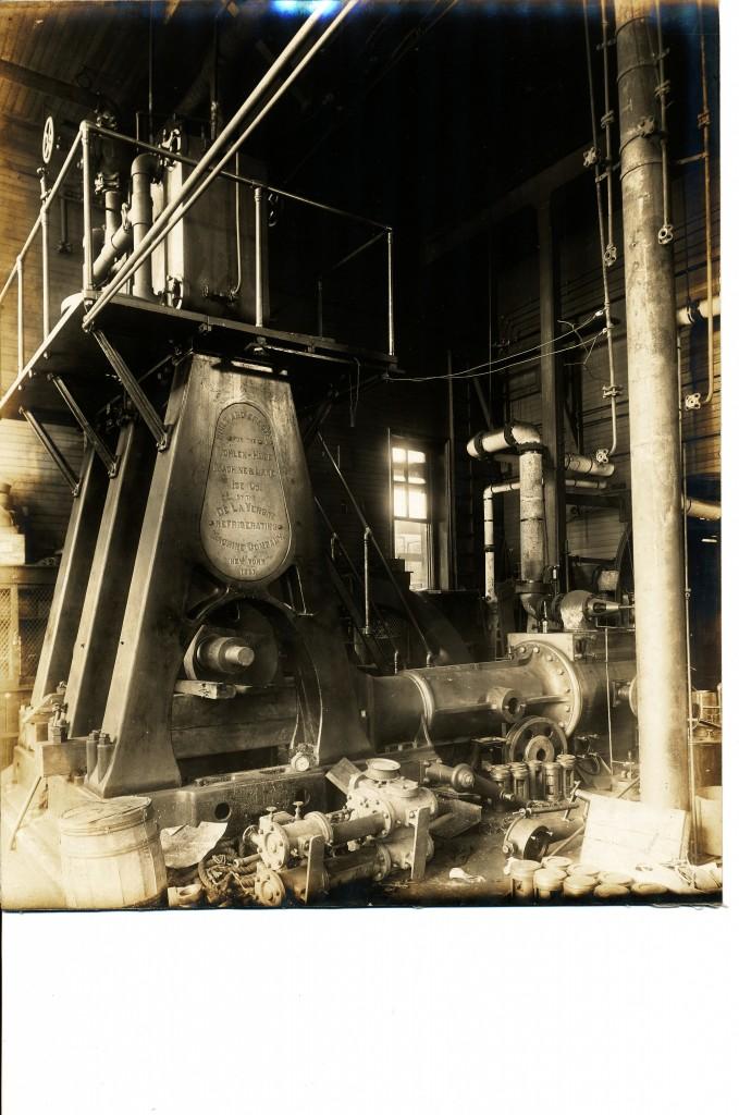 Bohlen Huse compressor stand 2